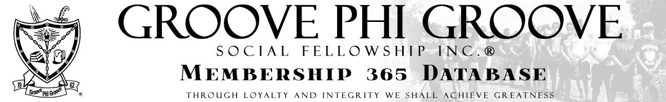 Groove Phi Groove Social Fellowship Incorporated